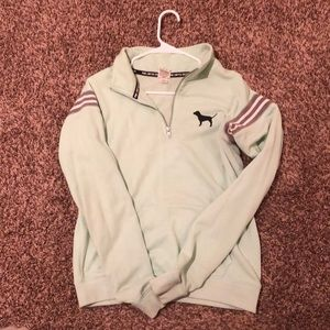 VS Pink Mint Green Pullover